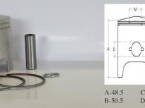 бутало комплект за хонда Lead STD-40.00mm