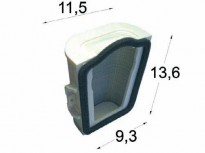 въздушен филтър за YAMAHA XV 750 Virago 1000, 1100