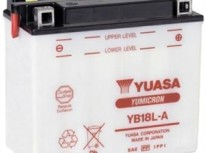 мото акумулатори за скутери, мотори,ATV TASHIMA YUASA YB18L-A 12V18Ah 181x92x164mm