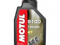 масло за скутер,мотоциклет,ATV, MOTUL 5100 15W50 Ester 4T 1л.-4л.