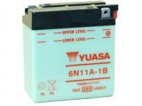 мото акумулатори за скутери, мотори,ATV TASHIMA YUASA 6V11Ah 122x62x131mm