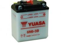 мото акумулатори за скутери, мотори,ATV TASHIMA YUASA 6N6-3B 6V6Ah 99x57x111mm