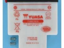 мото акумулатори за скутери, мотори,ATV TASHIMA YUASA HYB16A-AB 12V16Ah 152x93x182mm