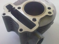цилиндър за китайски скутер GY6-150cc-STD 57.4mm-(Може и КОМПЛЕКТ)