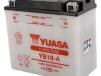 мото акумулатори за скутери, мотори,ATV TASHIMA YUASA YB18-A 12V18Ah 181x92x164mm