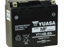 мото акумулатори за скутери, мотори,ATV TASHIMA YUASA YT14B-BS 12V12Ah 152x70x145mm