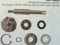 HONDA PANTEON 125-150cc HONDA SH 125-150cc, HONDA NES 125-150cc, HONDA DYLAN 125-150cc