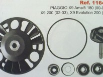 PIAGGIO X9 180cc, X9 200cc (02-03) X9 EVOLUTION 200cc (03)