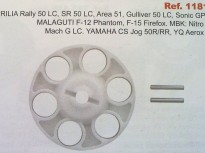 APRILIA RALLY LC, SR 50 LC, GULLIVER 50 LC, MALAGUTI F12 PHANTOM F15, FIREFOX, MBK, YAMAHA JOG, AEROX 50