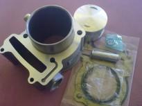 цилиндър,бутало,сегменти,зегерки,бутален болт и гарнитури за KYMCO GRAND DINK-250cc 72.7mm