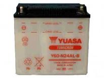 мото акумулатори за скутери, мотори,ATV TASHIMA YUASA Y60-N24AL-B 12V28Ah 186x126x178mm