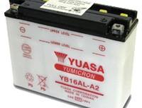 мото акумулатори за скутери, мотори,ATV TASHIMA YUASA YB16AL-A2 12V16Ah 207x72x164mm