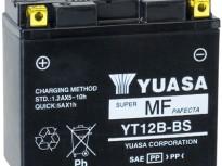 мото акумулатори за скутери, мотори,ATV TASHIMA YUASA YT12B-BS 12V 10Ah 150x69x130mm