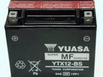 мото акумулатори за скутери, мотори,ATV TASHIMA YUASA YTX12-BS 12V10Ah 150x87x130mm