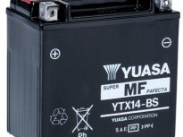 мото акумулатори за скутери, мотори,ATV TASHIMA YUASA YTX14-BS 12V12Ah 150x87x145mm
