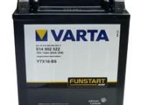 мото акумулатори за скутери, мотори,ATV VARTA YTX16-BS
