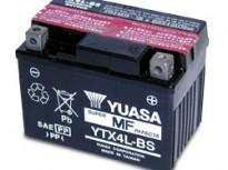 мото акумулатори за скутери, мотори,ATV TASHIMA YUASA YTX4L-BS 12V3Ah 113x70x85mm