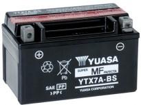 мото акумулатори за скутери, мотори,ATV TASHIMA YUASA YTX7A-BS 12V6Ah 150x87x93mm