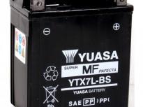 мото акумулатори за скутери, мотори,ATV TASHIMA YUASA YTX7L-BS 12V6Ah 113x70x130mm