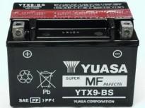 мото акумулатори за скутери, мотори,ATV TASHIMA YUASA YTX9-BS 12V8Ah 150x87x105mm