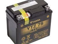 мото акумулатори за скутери, мотори,ATV TASHIMA YUASA YTZ7S-BS 12V6Ah 113x70x105mm