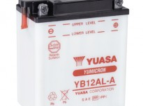 мото акумулатори за скутери, мотори,ATV TASHIMA YUASA YB12AL-A 12V12Ah 136x82x162mm