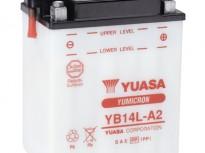 мото акумулатори за скутери, мотори,ATV TASHIMA YUASA YB14L-A2 12V14Ah 136x91x168mm