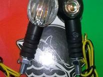 мигачи за скутери,мотоциклети,ATV комплект (чупещо рамо) SHARK