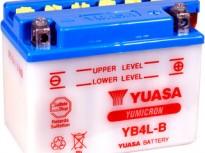 мото акумулатори за скутери, мотори,ATV TASHIMA YUASA YB4L-B 12V4Ah 121x71x93mm