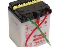 мото акумулатори за скутери, мотори,ATV TASHIMA YUASA YB2.5L-C-yuasa-12V2.5Ah 81x71x106mm
