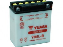 мото акумулатори за скутери, мотори,ATV TASHIMA YUASA YB5L-B 12V5Ah 121x61x131mm